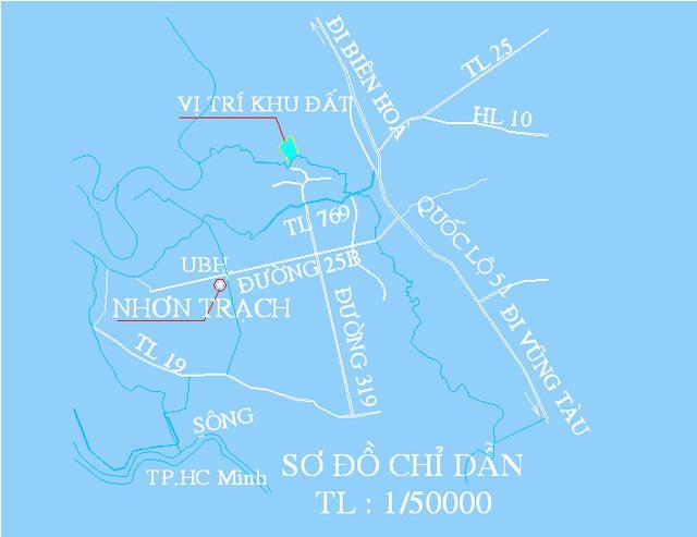 Indesco muốn điều chỉnh qui hoạch khu dân cư hơn 52 ha tại Nhơn Trạch  - Ảnh 1.