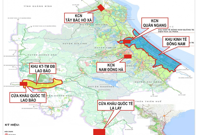 Quảng Trị nghiên cứu lập qui hoạch khu công nghiệp cạnh Quốc lộ 1A - Ảnh 1.