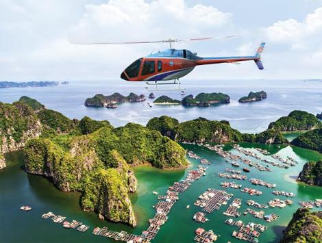 Những điểm du lịch nội địa có dịch vụ bay trực thăng ngắm cảnh - Ảnh 1.
