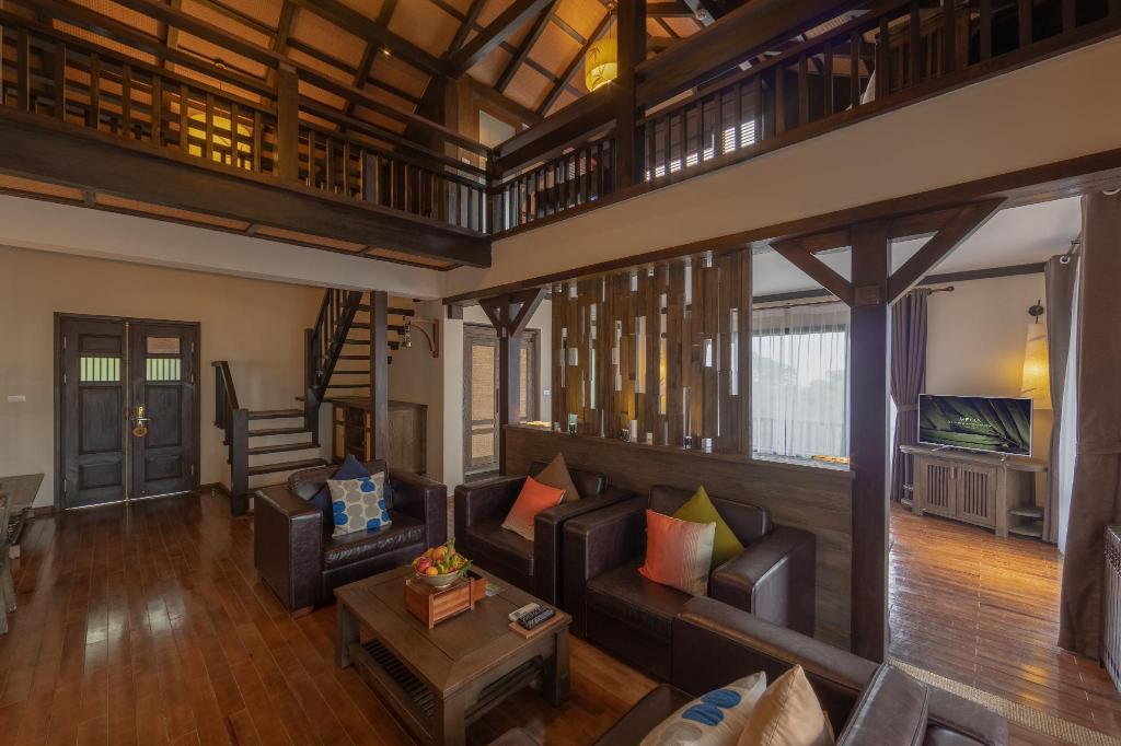 Loạt resort ngoại thành Hà Nội giảm giá mạnh dịp cuối năm - Ảnh 2.
