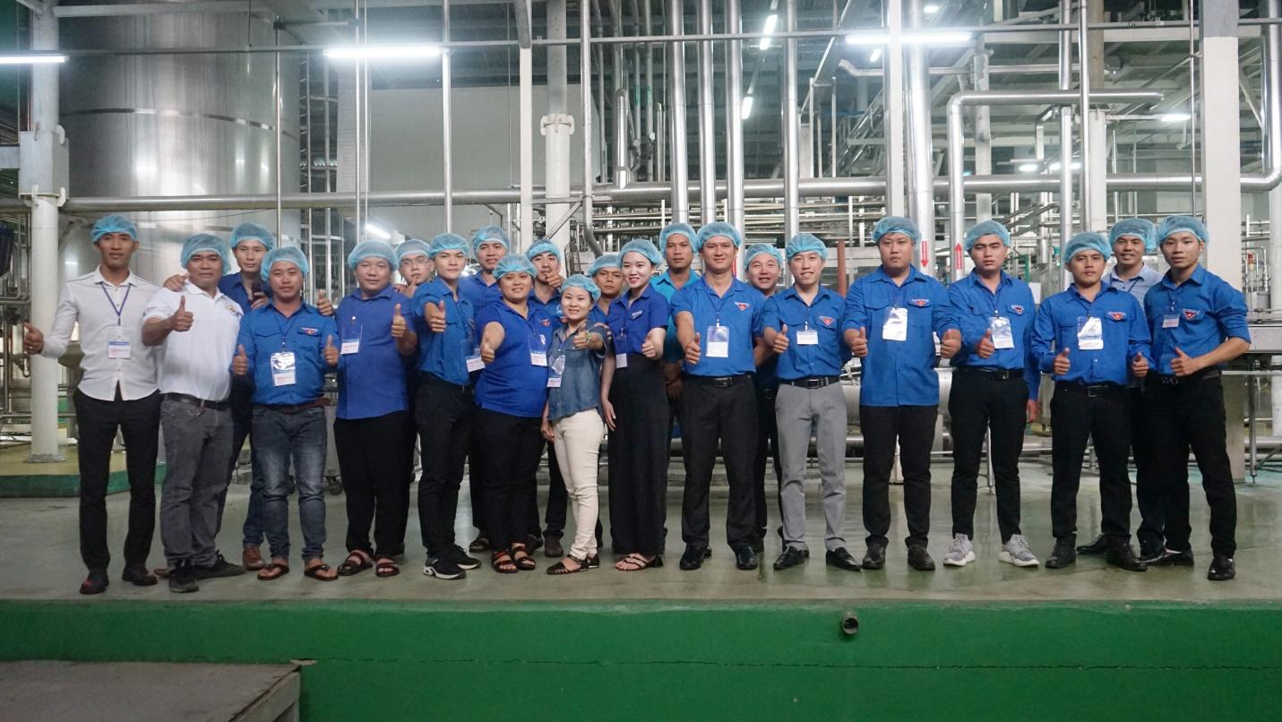 Đoàn đại biểu lớp tập huấn chuyển giao Khoa học công nghệ khu vực Đông Nam Bộ tham quan và giao lưu tại Tập đoàn Tân Hiệp Phát - Ảnh 5.