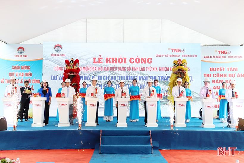 TNG Holdings khởi công hai dự án hơn 1.500 tỉ đồng ở Hà Tĩnh - Ảnh 1.