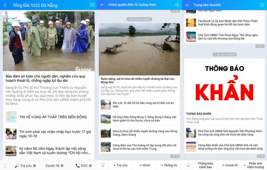 OTT góp phần thông tin diễn biến mưa, lũ lụt miền trung thêm nhanh chóng - Ảnh 1.