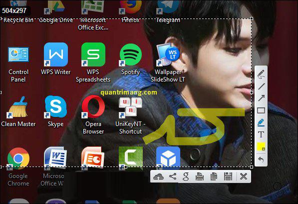 Hướng dẫn chụp màn hình trên máy tính bằng ứng dụng Lightshot vô cùng nhanh gọn - Ảnh 3.