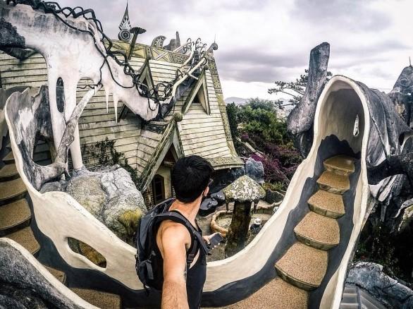 Ghé Đà Lạt, khám phá loạt địa điểm thăm thú mang đậm phong cách Halloween - Ảnh 2.