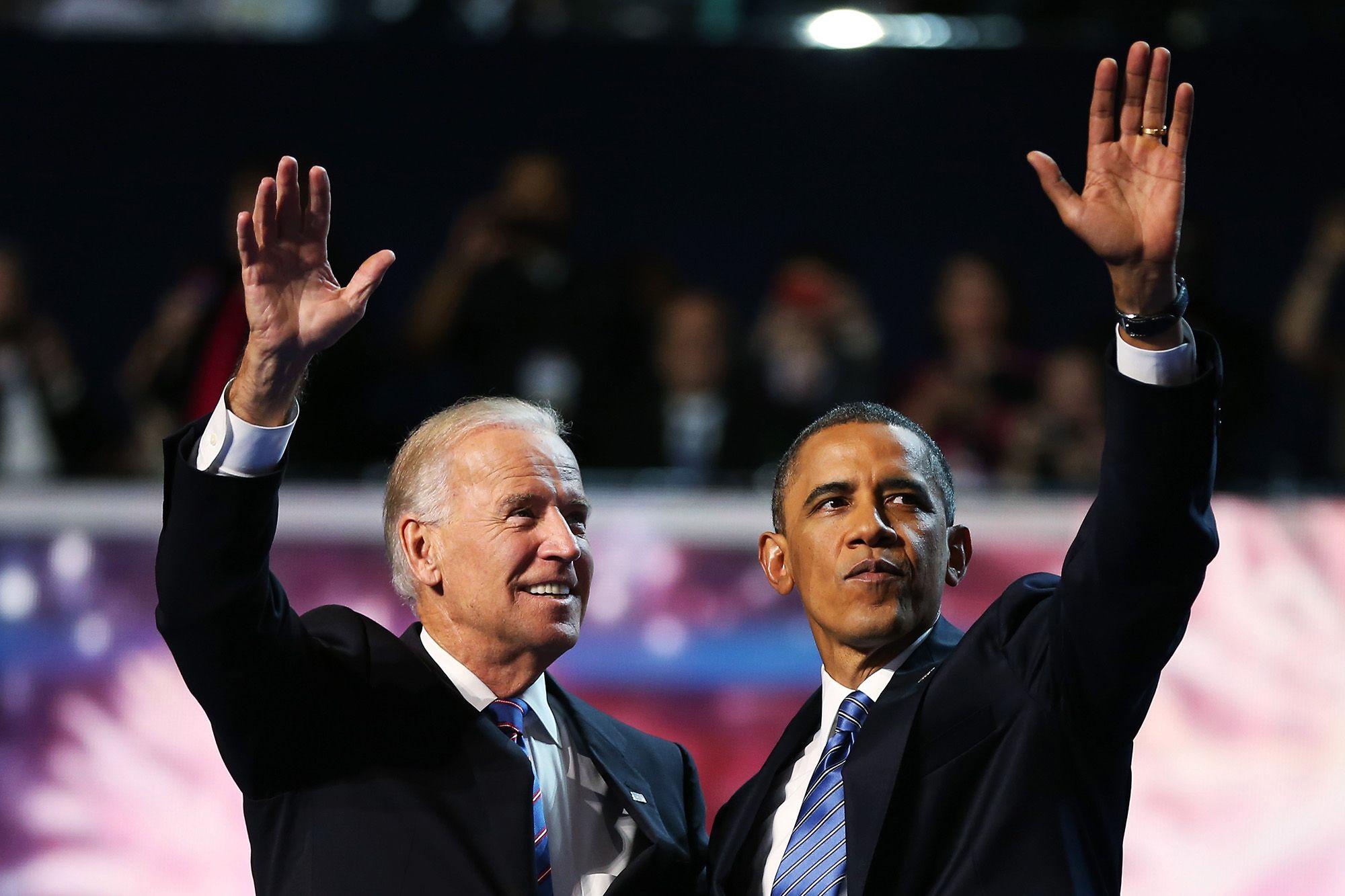 Ông Obama trực tiếp vận động tranh cử cho người cũ Biden trong chặng cuối - Ảnh 1.