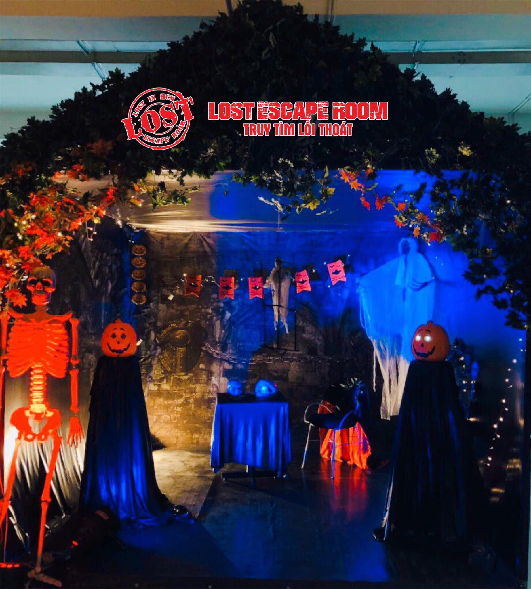 Những địa chỉ chơi game nhập vai Escape The Room gây sốt mùa Halloween năm nay  - Ảnh 9.