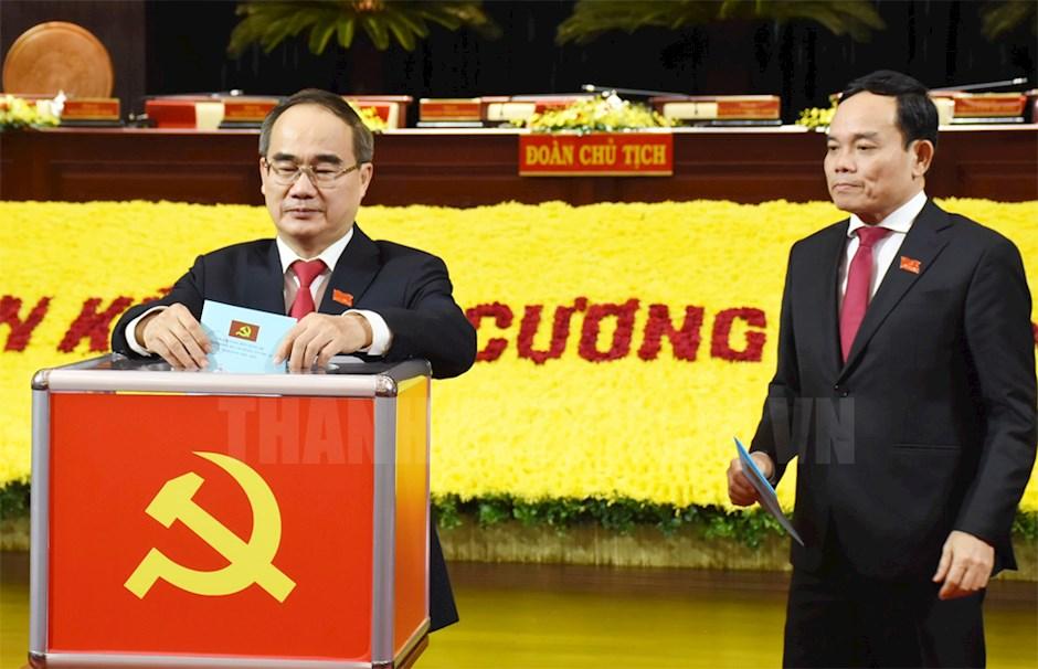 Danh sách Ban chấp hành Đảng bộ TP HCM khoá XI, nhiệm kì 2020-2025 - Ảnh 1.