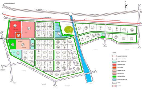 Bắc Ninh duyệt nhiệm vụ qui hoạch chi tiết Khu đô thị và dịch vụ hơn 100 ha - Ảnh 1.