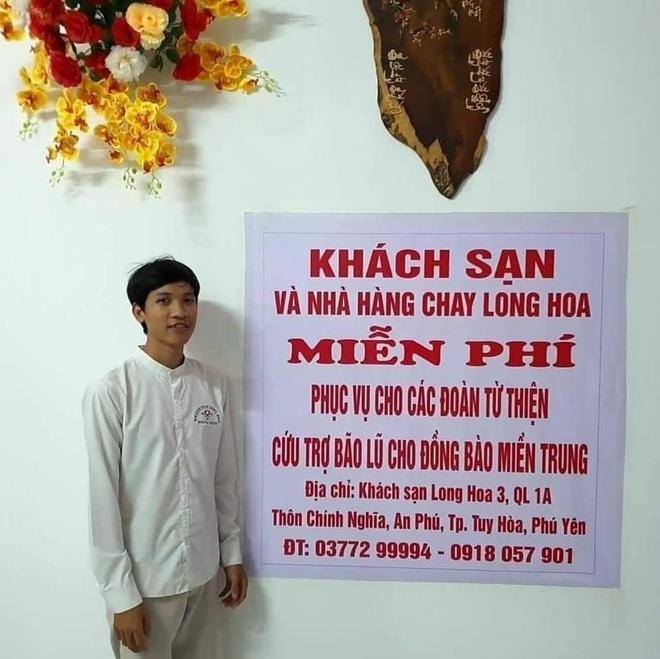 Khách sạn tại Phú Yên miễn phí cho đoàn từ thiện đến miền Trung - Ảnh 1.