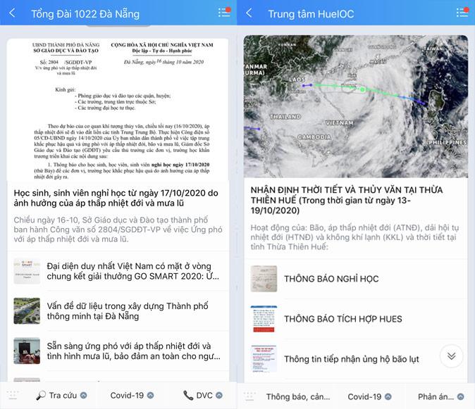 Tổng cục Phòng chống thiên tai ứng dụng OTT để thông tin khẩn về tình hình lũ lụt miền trung - Ảnh 1.