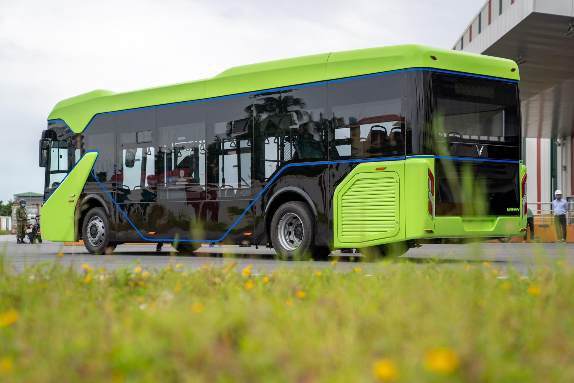 Vingroup chạy thử thành công xe bus điện đầu tiên ở Việt Nam - Ảnh 3.
