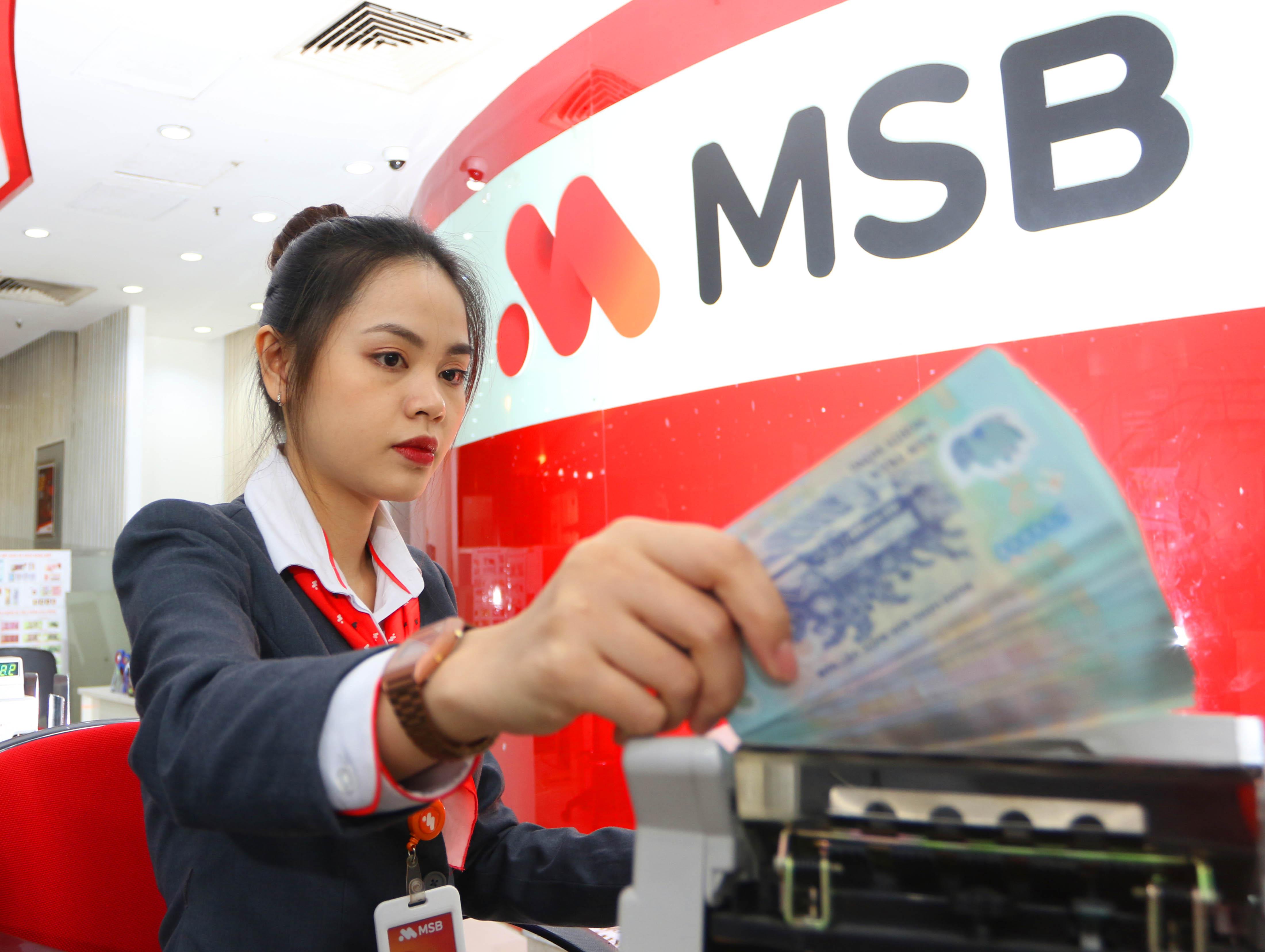 MSB lãi trước thuế hơn 1.660 tỉ sau 9 tháng, vượt kế hoạch cả năm - Ảnh 1.
