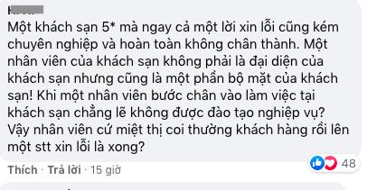 Cách xử lí của khách sạn 5 sao tại TP HCM khi nhân viên nói xấu khách trên mạng xã hội - Ảnh 4.