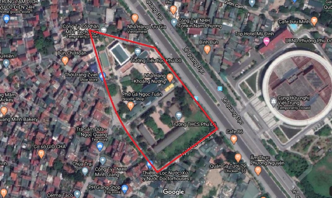 Những mảnh đất chưa sử dụng theo qui hoạch ở vùng qui hoạch đẹp Keangnam - Ảnh 1.