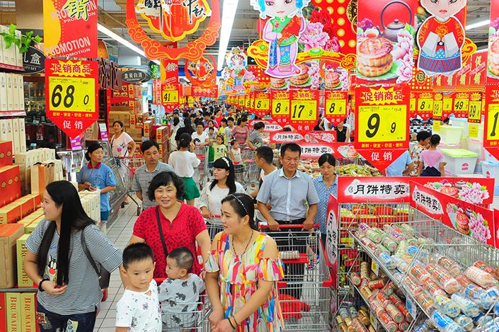 Alibaba mua hơn 480 đại siêu thị chỉ để triển khai dịch vụ giao hàng thực phẩm trong một giờ - Ảnh 1.