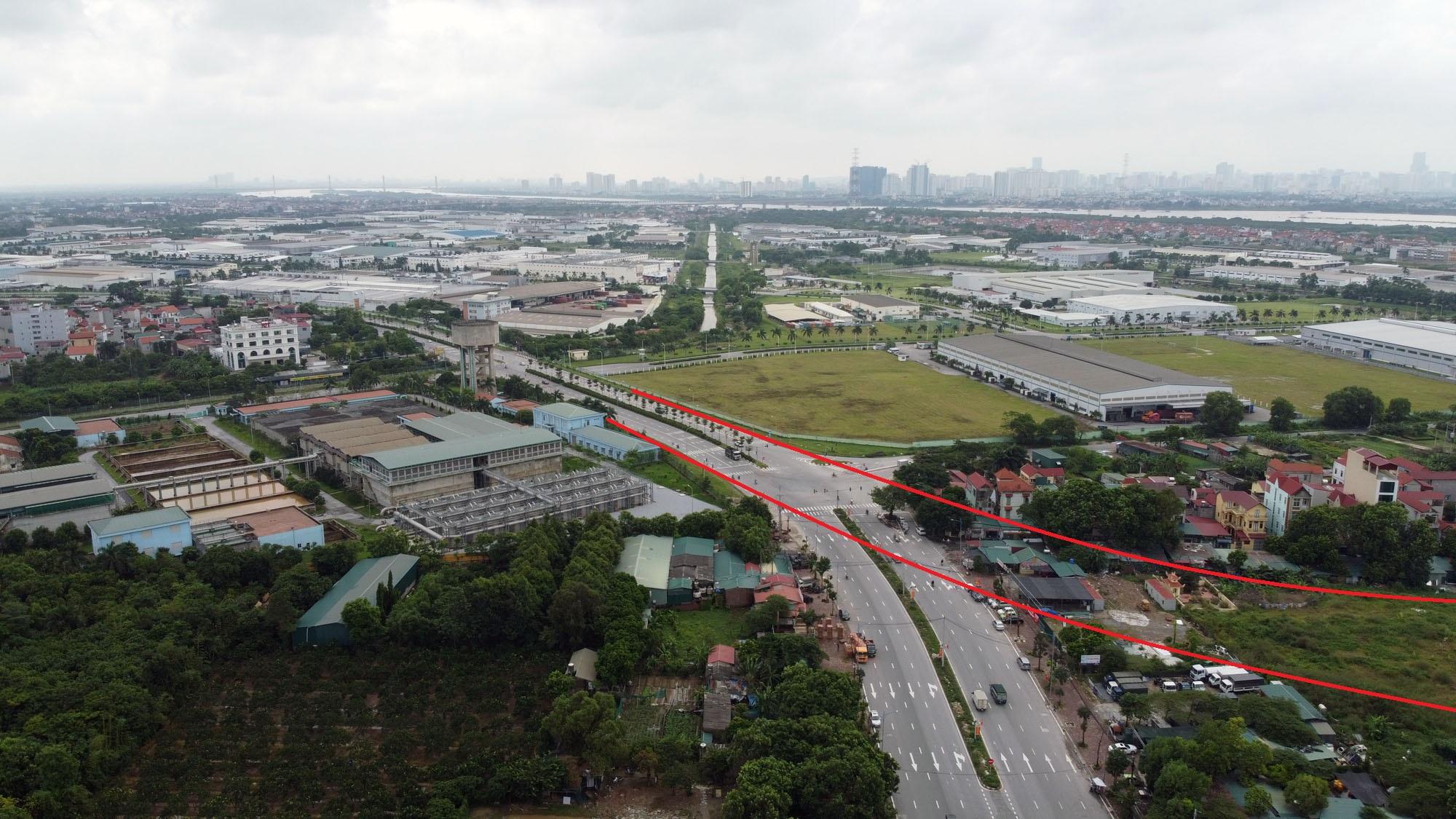 Ba đường sẽ mở theo qui hoạch ở xã Đại Mạch, Đông Anh, Hà Nội - Ảnh 3.