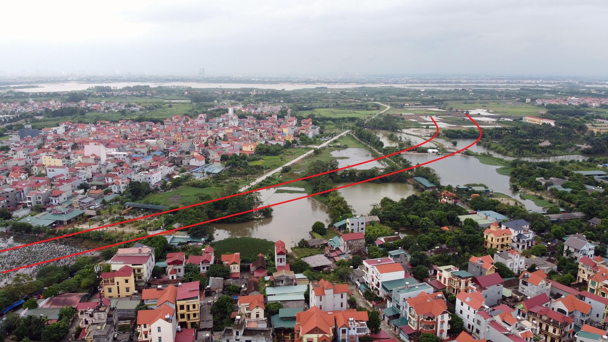 Ba đường sẽ mở theo qui hoạch ở xã Đại Mạch, Đông Anh, Hà Nội - Ảnh 4.