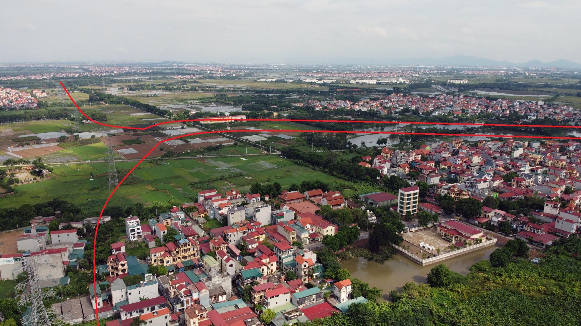 Ba đường sẽ mở theo qui hoạch ở xã Đại Mạch, Đông Anh, Hà Nội - Ảnh 5.