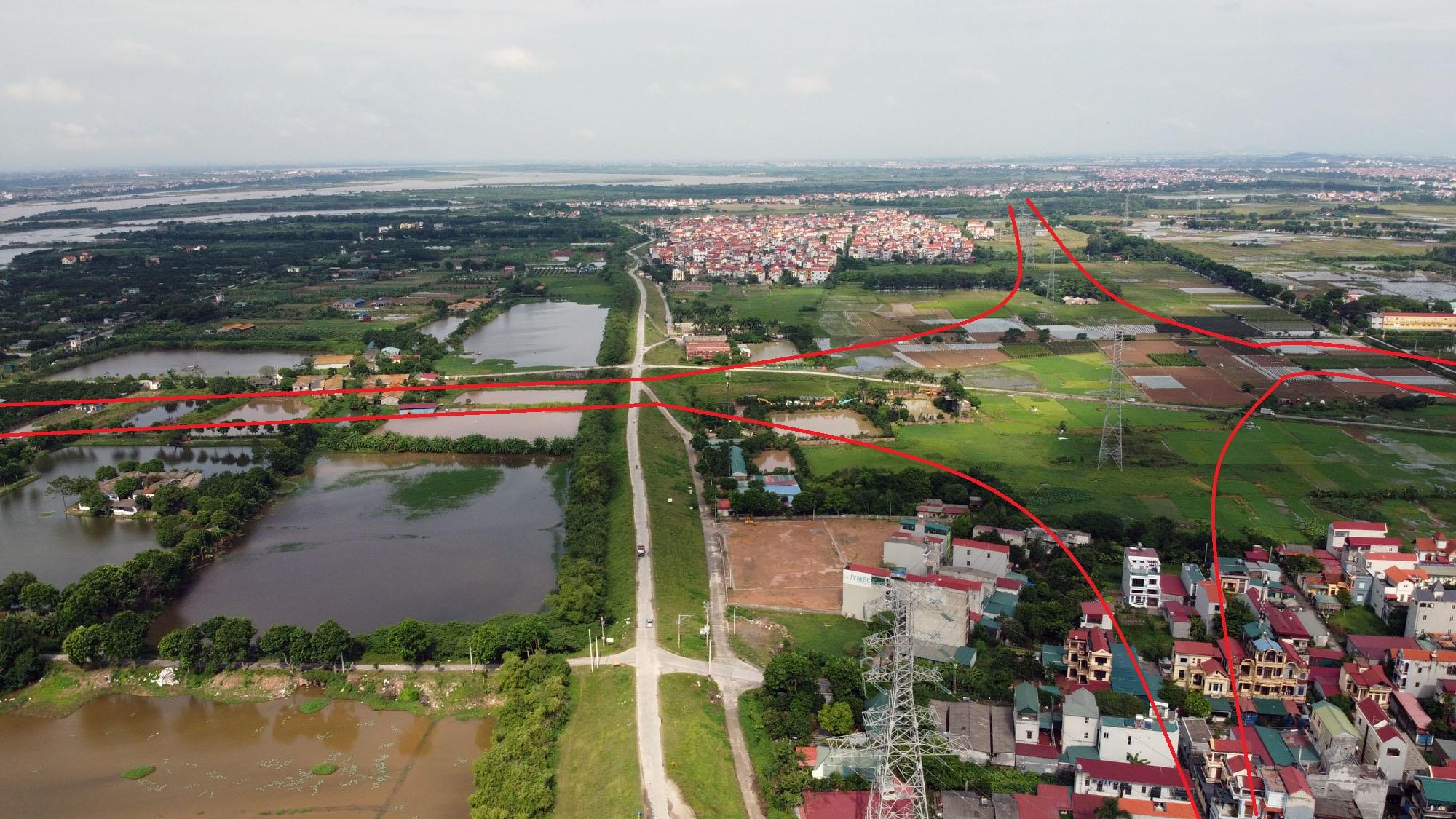 Ba đường sẽ mở theo qui hoạch ở xã Đại Mạch, Đông Anh, Hà Nội - Ảnh 6.