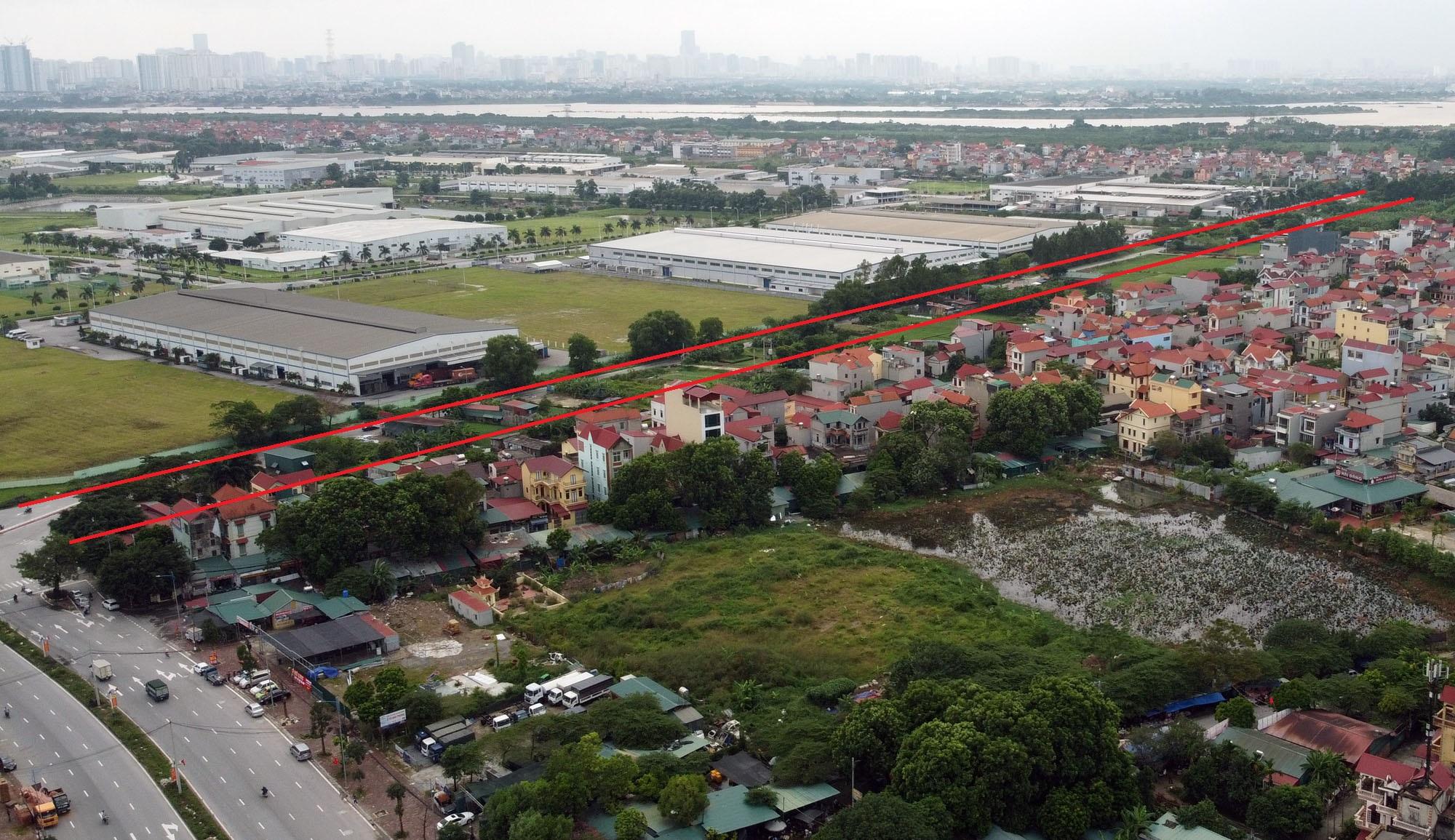 Ba đường sẽ mở theo qui hoạch ở xã Đại Mạch, Đông Anh, Hà Nội - Ảnh 9.