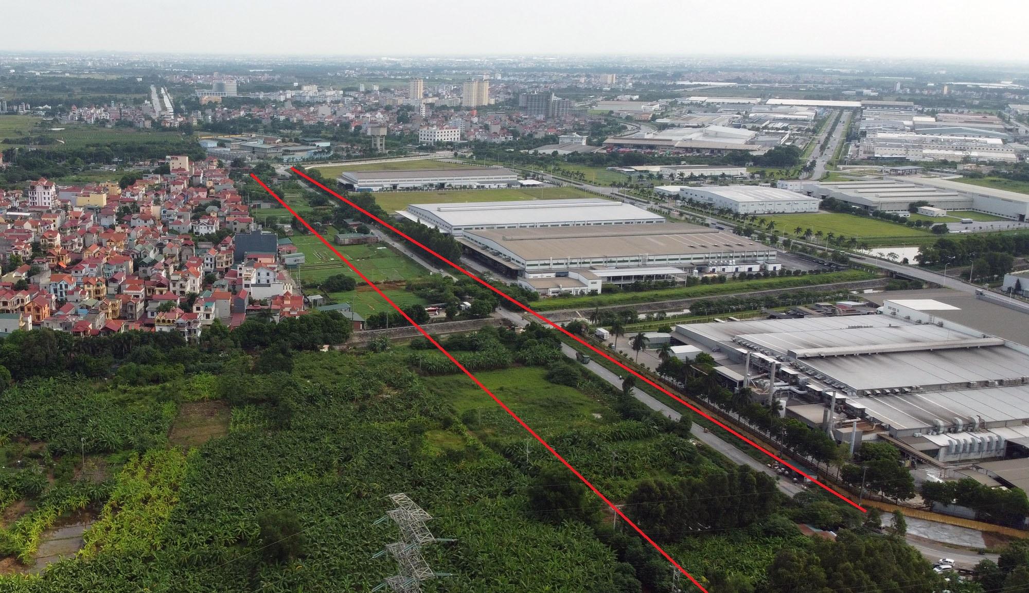 Ba đường sẽ mở theo qui hoạch ở xã Đại Mạch, Đông Anh, Hà Nội - Ảnh 10.