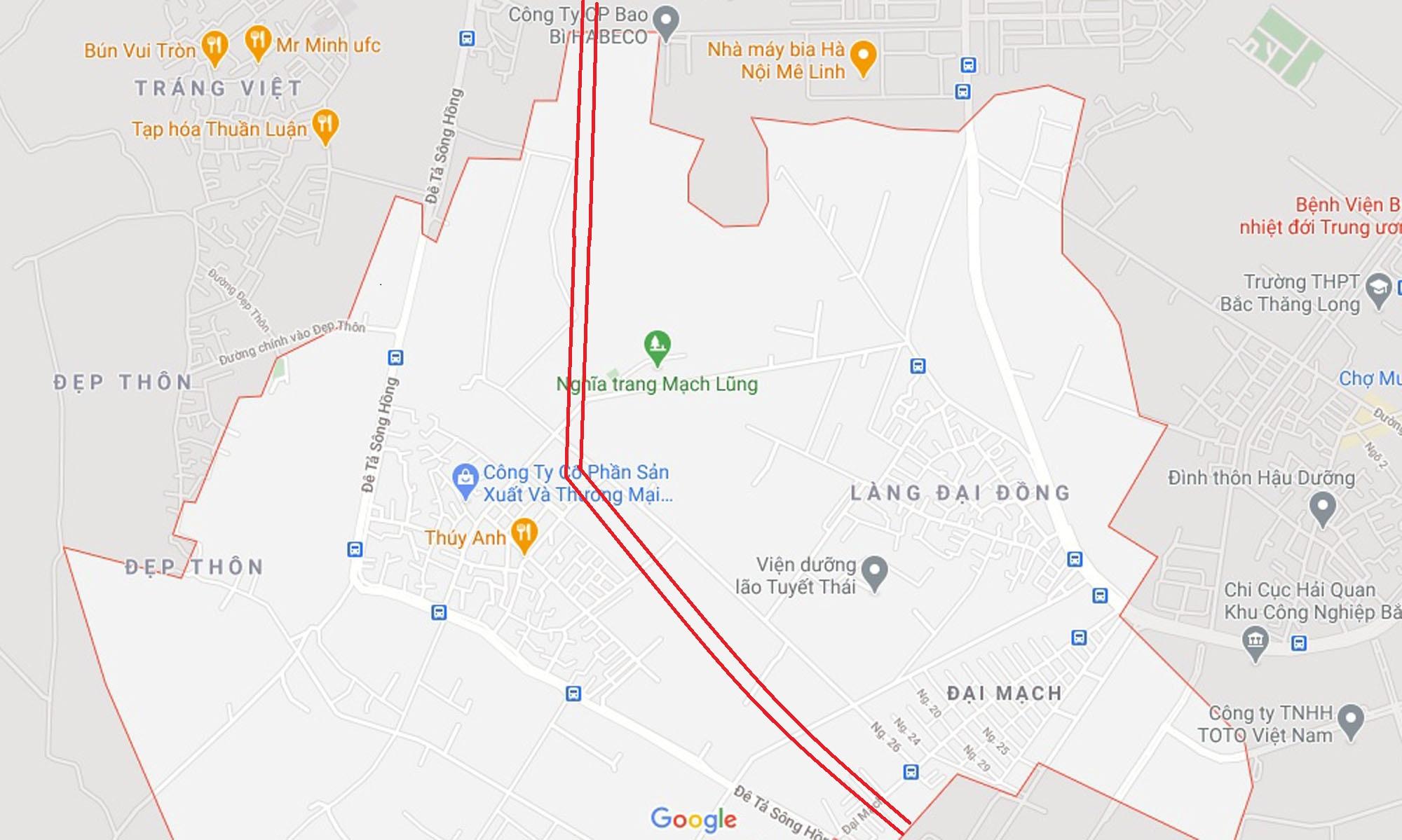 Ba đường sẽ mở theo qui hoạch ở xã Đại Mạch, Đông Anh, Hà Nội - Ảnh 11.