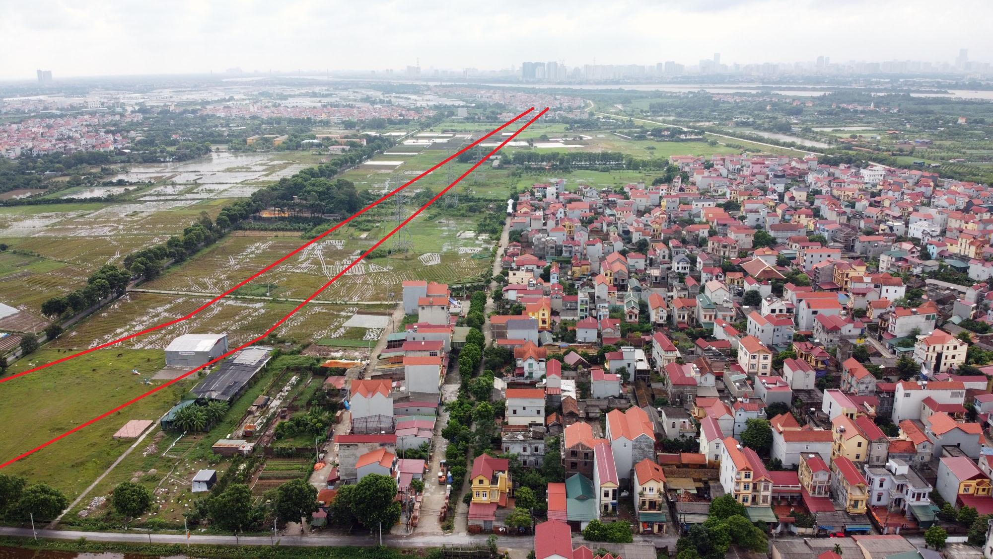 Ba đường sẽ mở theo qui hoạch ở xã Đại Mạch, Đông Anh, Hà Nội - Ảnh 13.