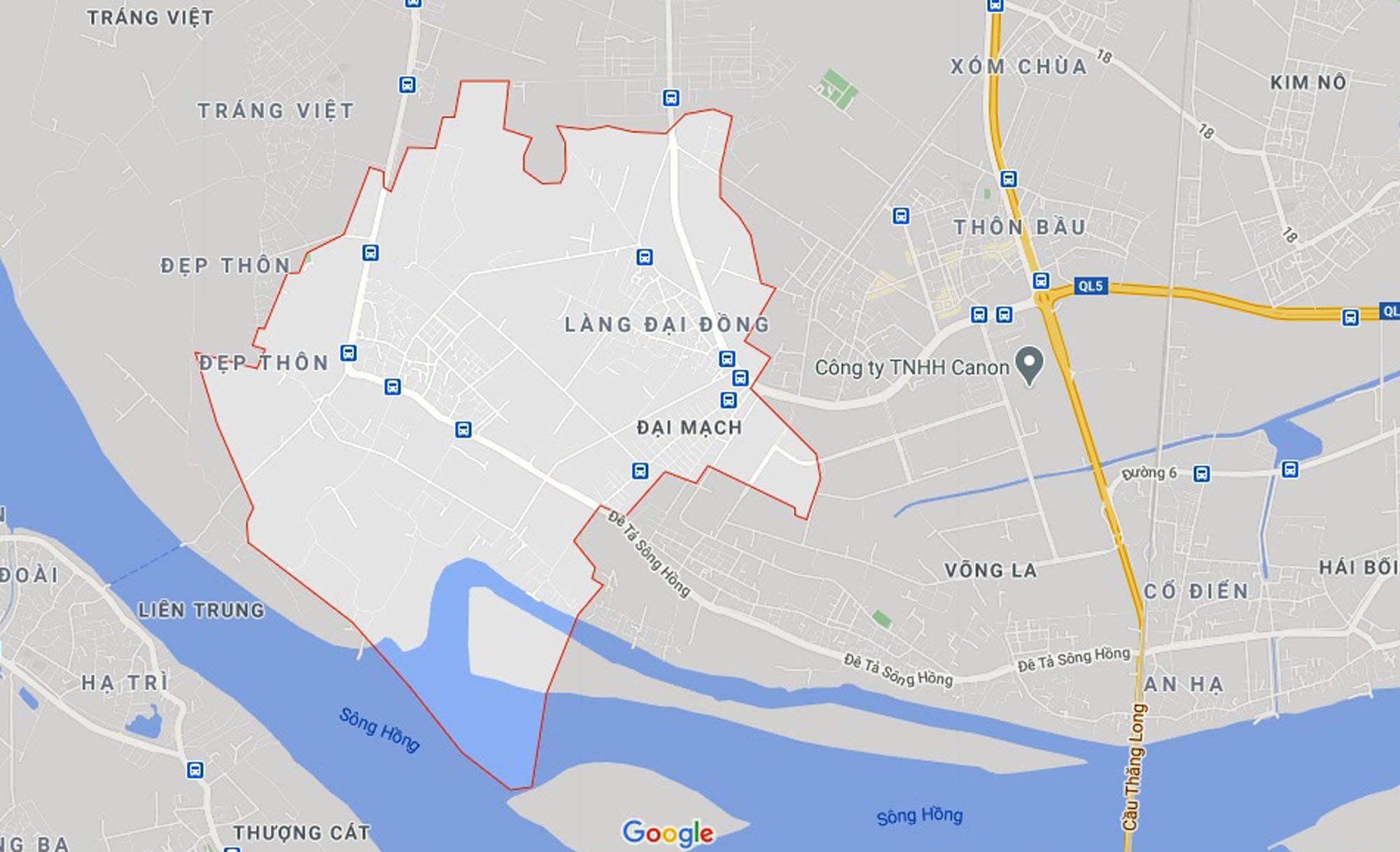 Ba đường sẽ mở theo qui hoạch ở xã Đại Mạch, Đông Anh, Hà Nội - Ảnh 1.