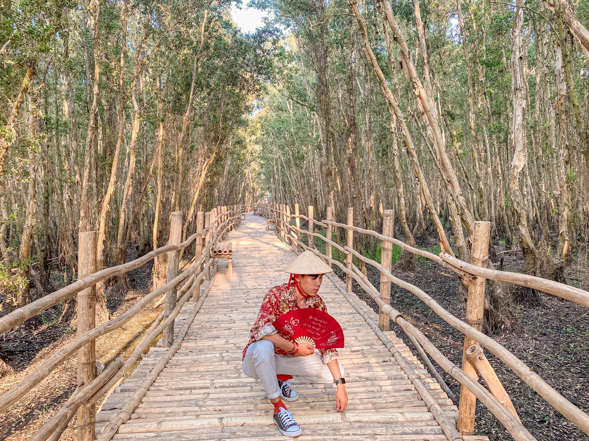 Hành trình khám phá những địa điểm đẹp nhất tại rừng tràm Trà Sư, An Giang  - Ảnh 8.