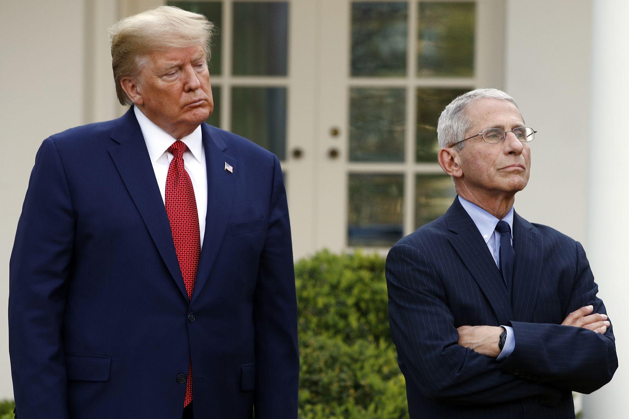 Tiến sĩ Fauci: Ông Trump không họp tổ công tác chống COVID-19 nhiều tháng - Ảnh 1.