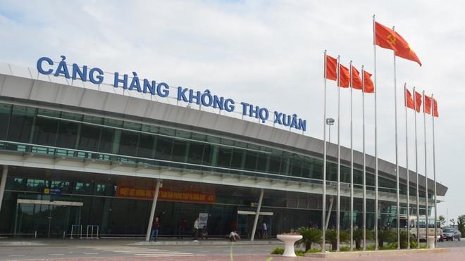 Khởi công đường nối Cảng hàng không Thọ Xuân hơn 3.500 tỉ đồng - Ảnh 1.