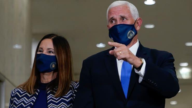 Phó Tổng thống Mỹ không tự cách li sau khi 4 trợ lí nhiễm COVID-19 - Ảnh 1.