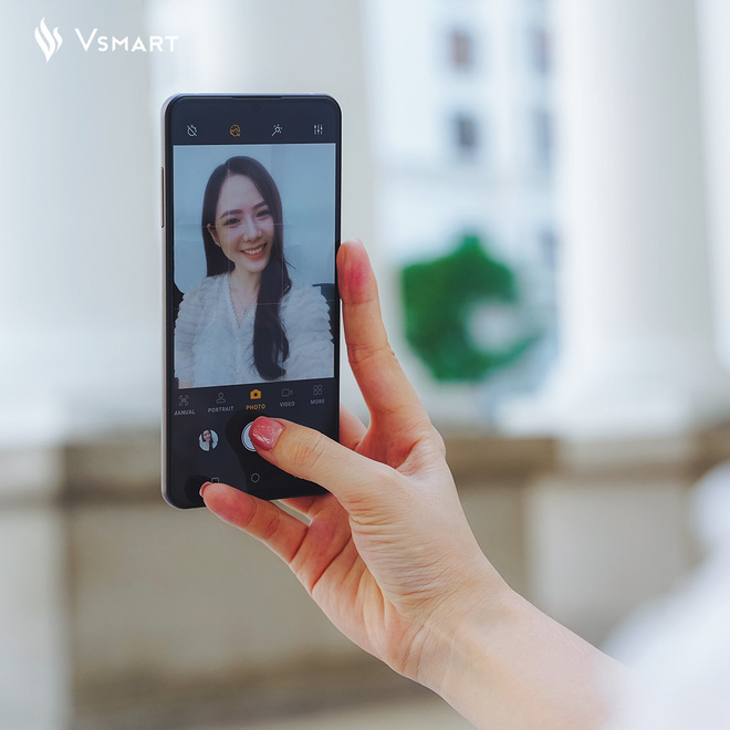 Vsmart Aris Pro: Smartphone Việt đầu tiên có camera ẩn dưới màn hình, bán với giá 10 triệu đồng - Ảnh 3.