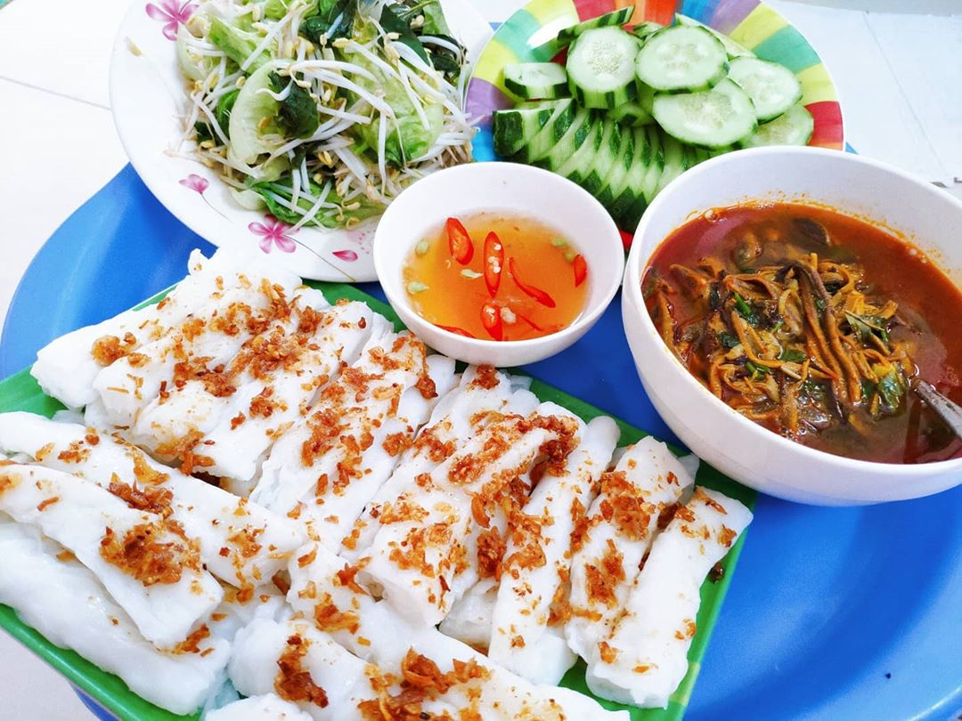Bánh mướt Nghệ An, đặc sản khó quên của miền quê Trung Bộ  - Ảnh 4.