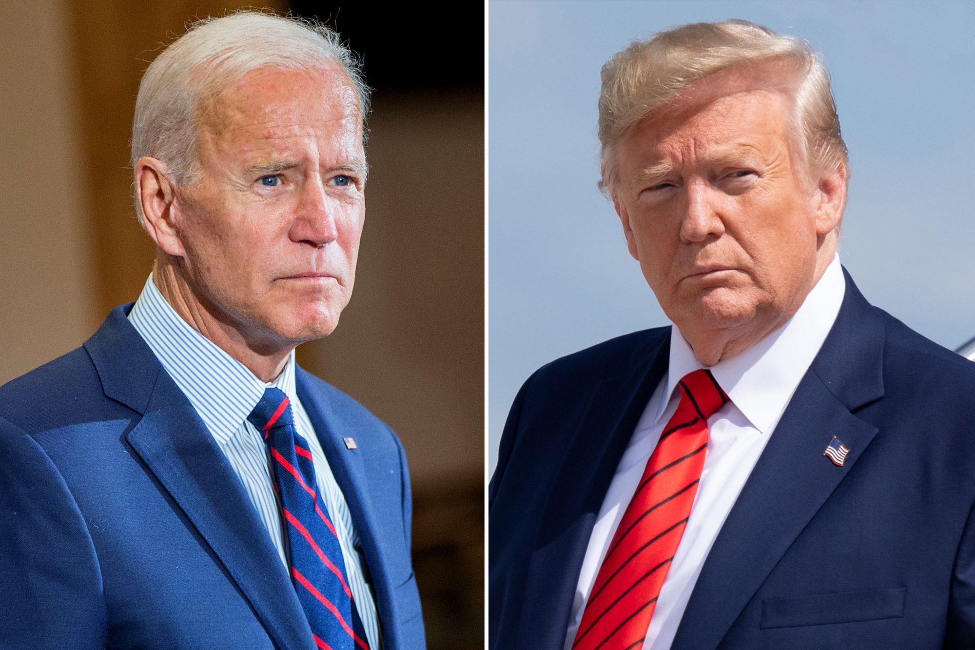 Ông Joe Biden chúc Tổng thống Trump sớm bình phục khỏi COVID-19 - Ảnh 1.