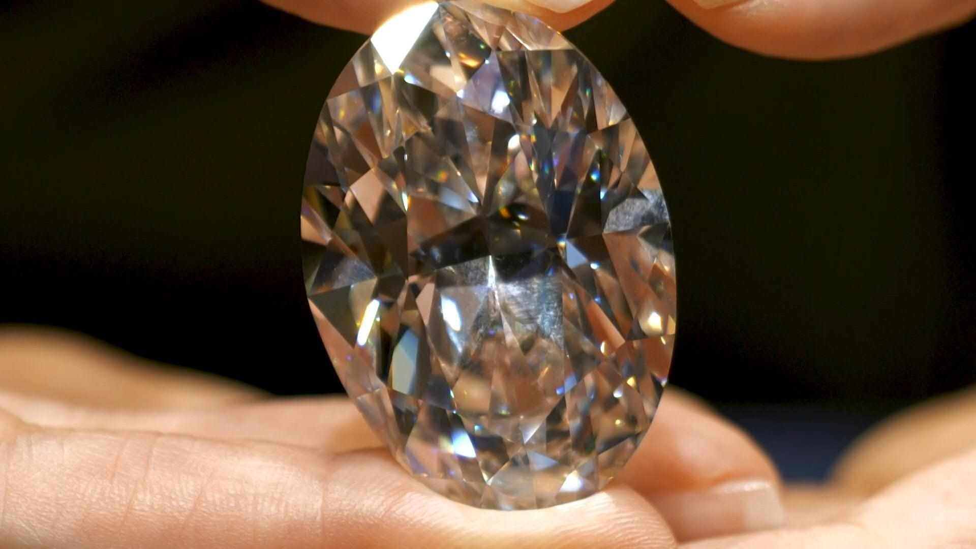 Cận cảnh viên kim cương quí hiếm được bán với giá 15,7 triệu USD - Ảnh 2.