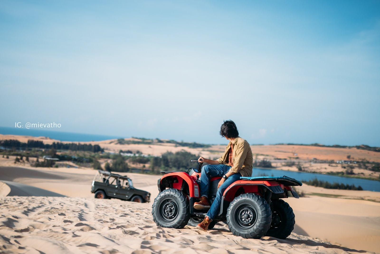 """Đến Bàu Trắng Bình Thuận, khám phá """"tiểu Sahara"""" ấn tượng của dải đất miền Trung  - Ảnh 12."""