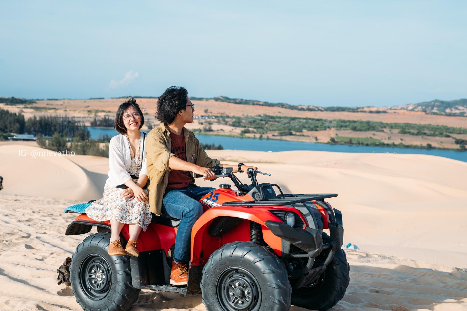 """Đến Bàu Trắng Bình Thuận, khám phá """"tiểu Sahara"""" ấn tượng của dải đất miền Trung  - Ảnh 6."""