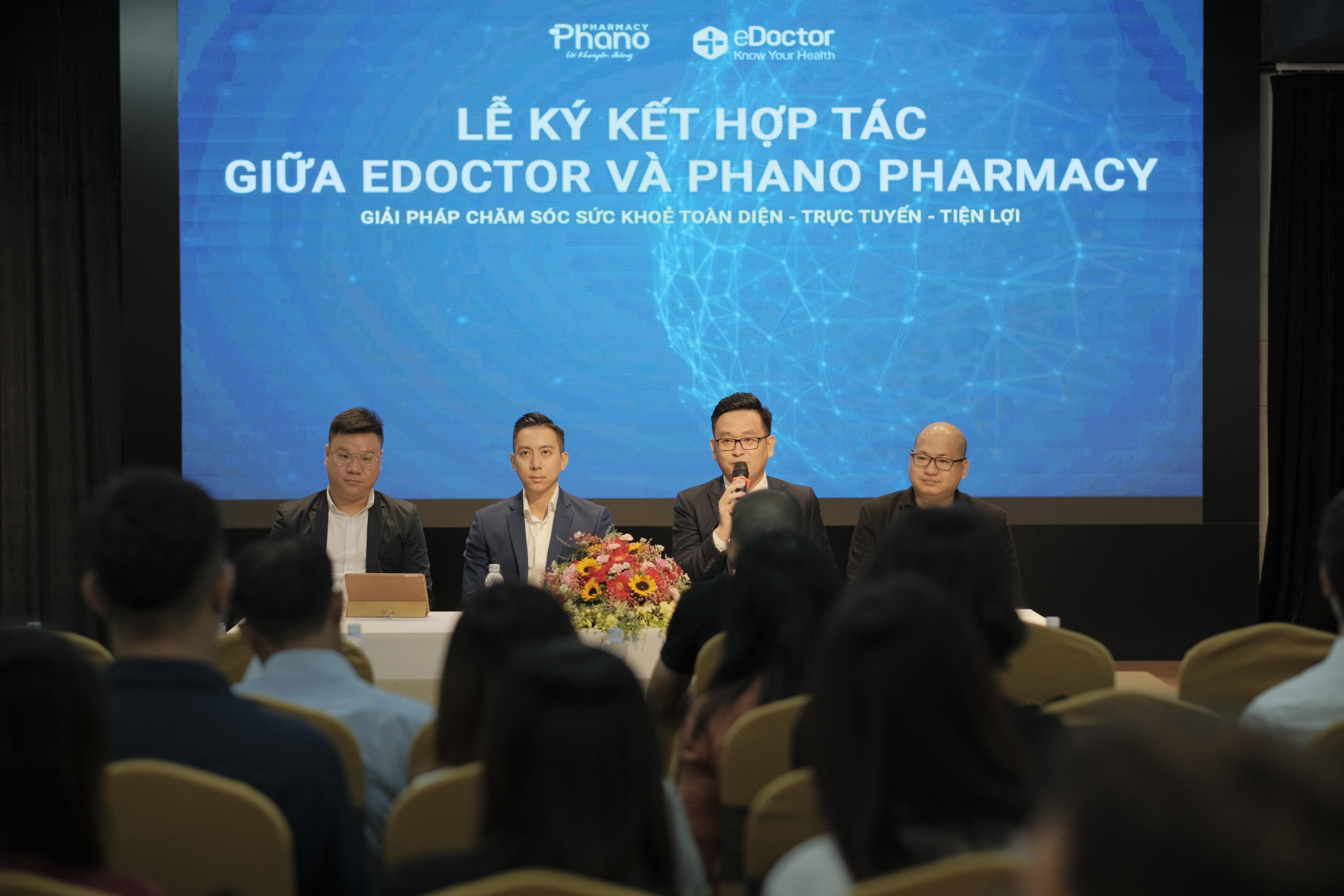 eDoctor bắt tay Phano Pharmacy bán thuốc trực tuyến, giao hàng nhanh chóng trong 2 giờ tại TP HCM - Ảnh 2.