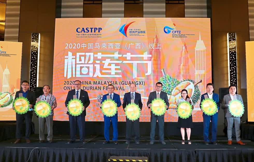 Người Trung Quốc đặt mua 300.000 trái sầu riêng Malaysia trong chưa đầy 1 giờ - Ảnh 2.