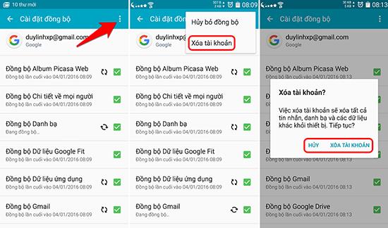 Chi tiết cách xóa tài khoản gmail trên IOS và Android - Ảnh 7.