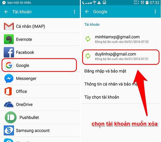 Chi tiết cách xóa tài khoản gmail trên IOS và Android - Ảnh 6.