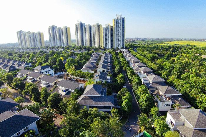Những khu đô thị xanh đáng sống nhất Hà Nội - Ảnh 2.
