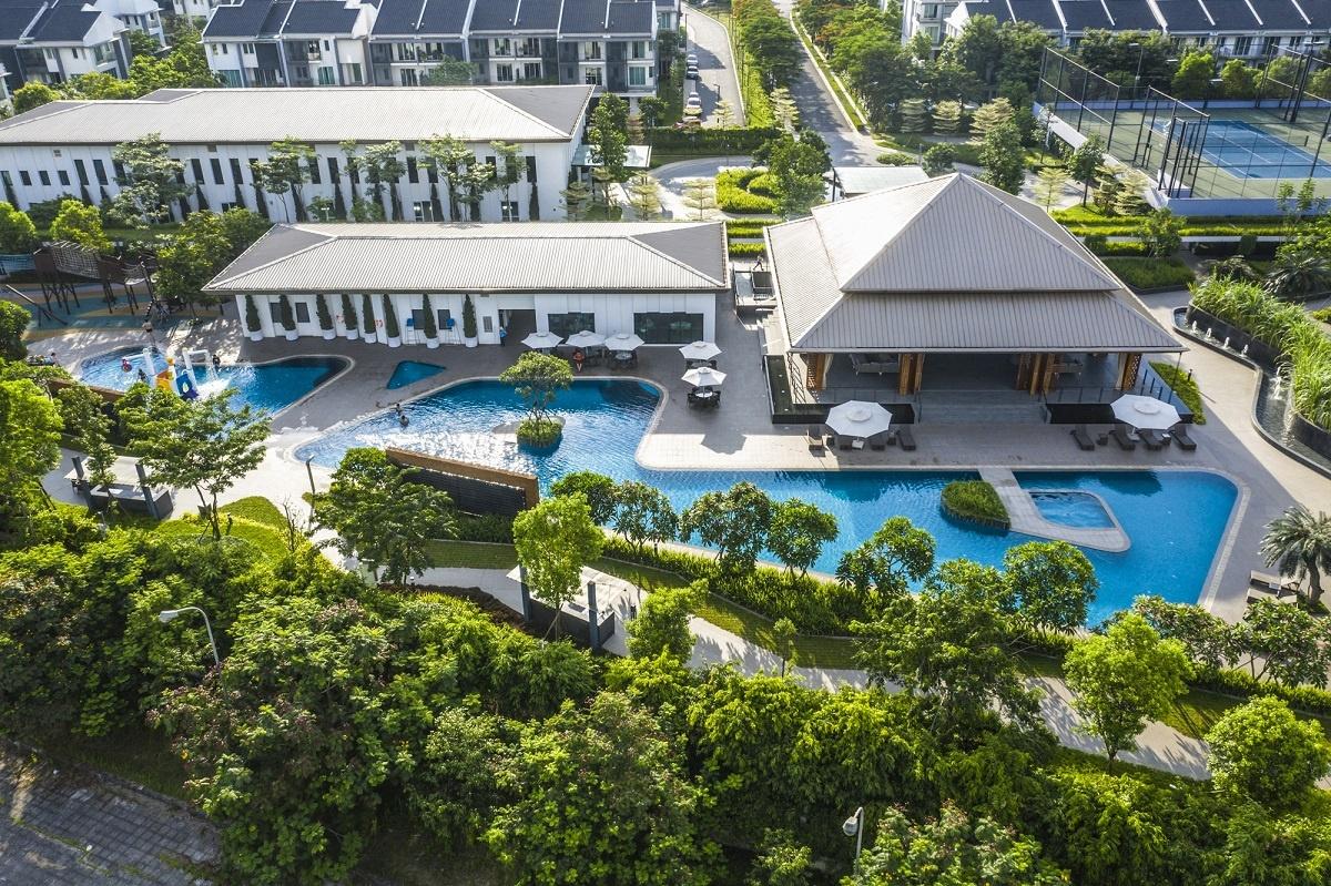 Những khu đô thị xanh đáng sống nhất Hà Nội - Ảnh 4.
