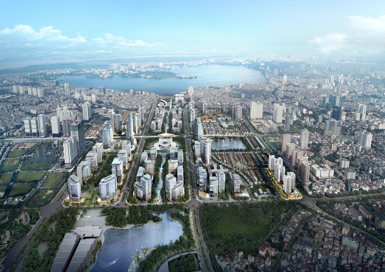 Những khu đô thị xanh đáng sống nhất Hà Nội - Ảnh 14.