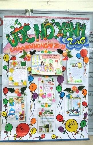 Chia sẻ 15 Mẫu báo tường ngày 20/11 đẹp, độc đáo và sáng tạo - Ảnh 11.