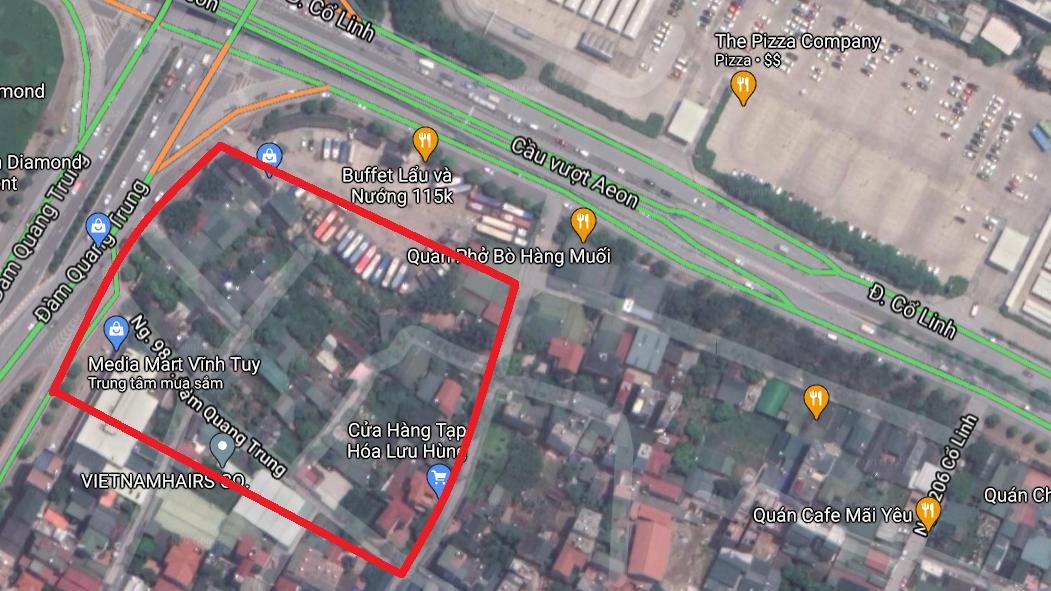 4 khu đất dính qui hoạch ở phường Long Biên, quận Long Biên, Hà Nội - Ảnh 7.
