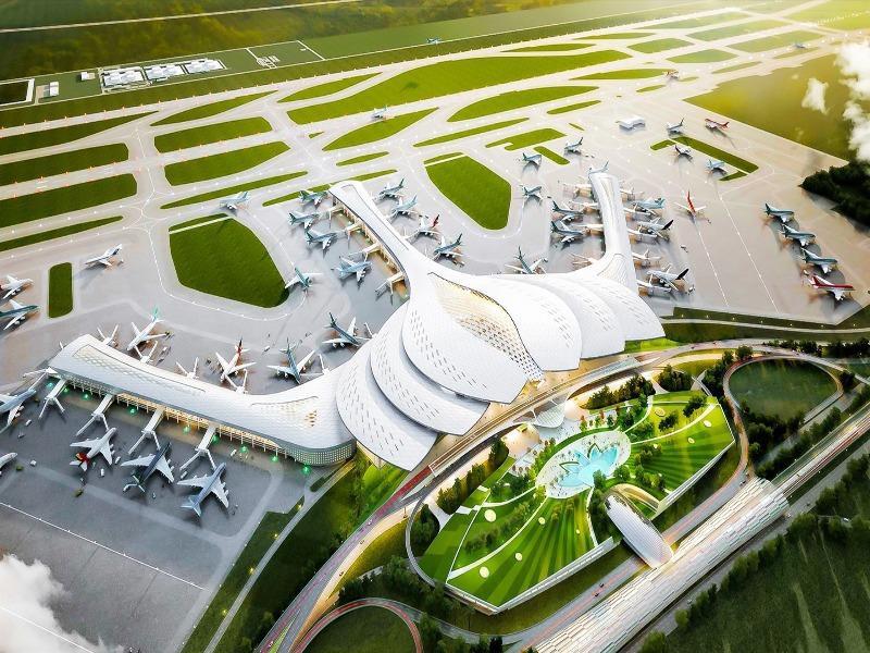 Chính phủ phê duyệt dự án sân bay Long Thành giai đoạn 1 trị giá hơn 109 nghìn tỉ đồng - Ảnh 1.