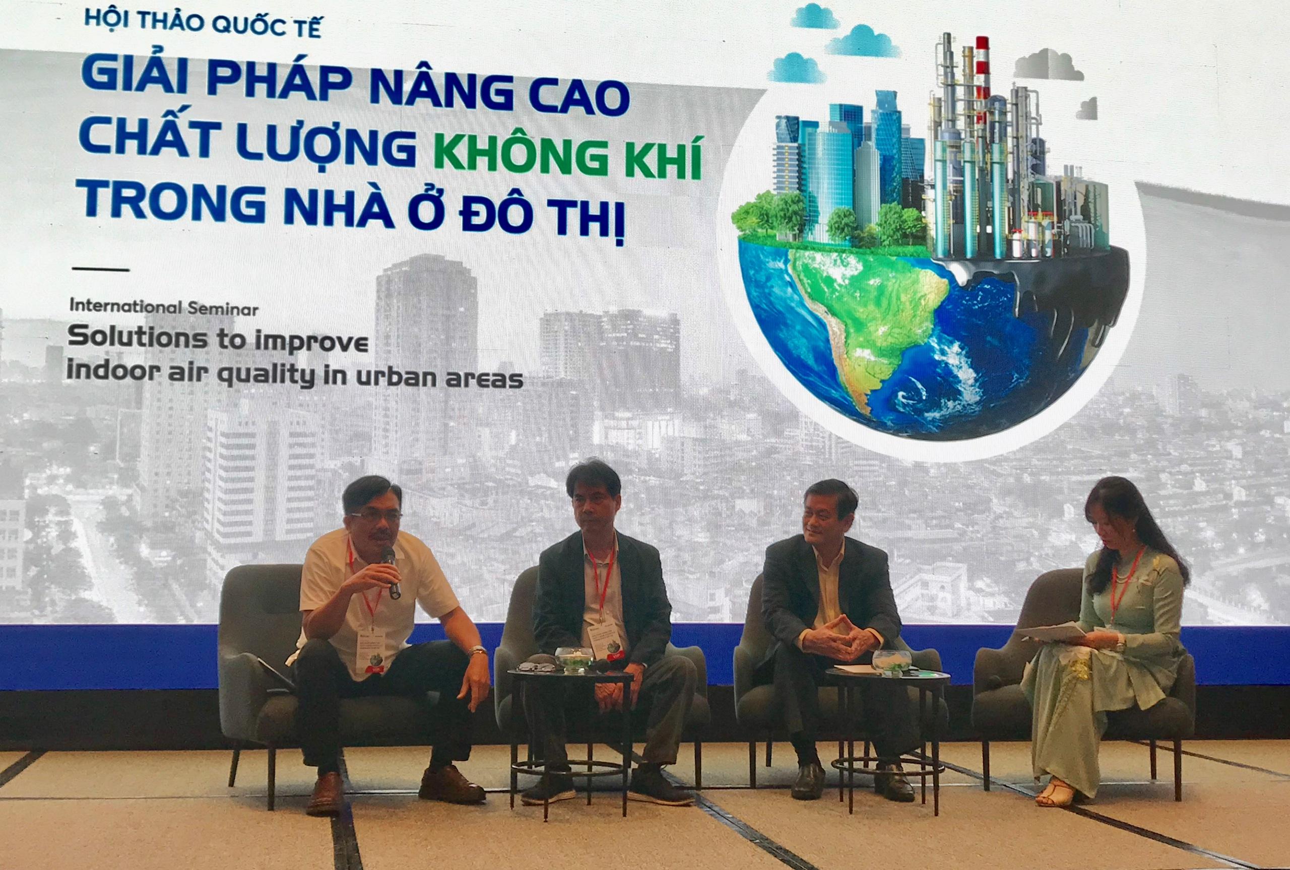 Cải thiện chất lượng không khí nhà ở đô thị từ việc qui hoạch kết hợp giải pháp công nghệ - Ảnh 1.